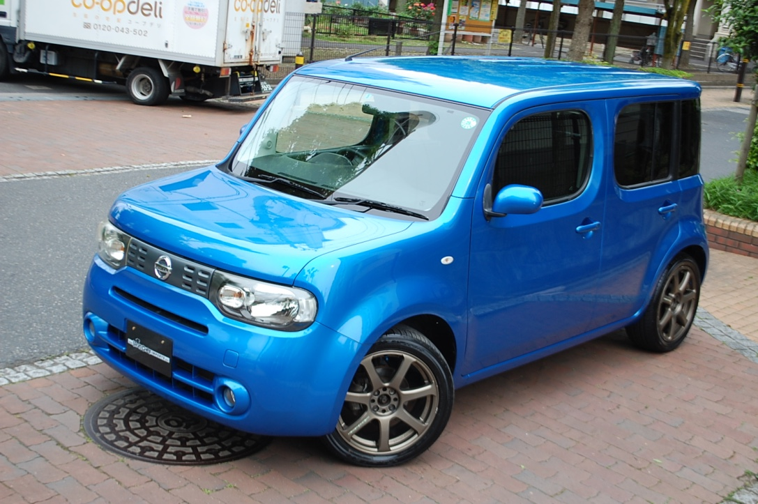 iron chef imports 2009 nissan cube. Black Bedroom Furniture Sets. Home Design Ideas