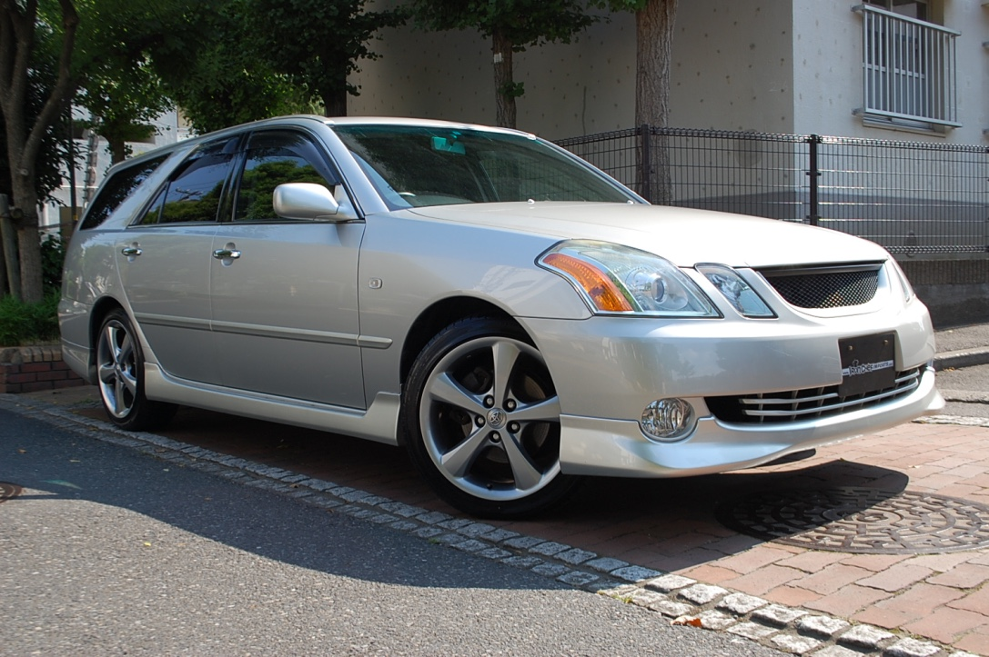 iron chef imports 2003 toyota mark ii blit sold. Black Bedroom Furniture Sets. Home Design Ideas