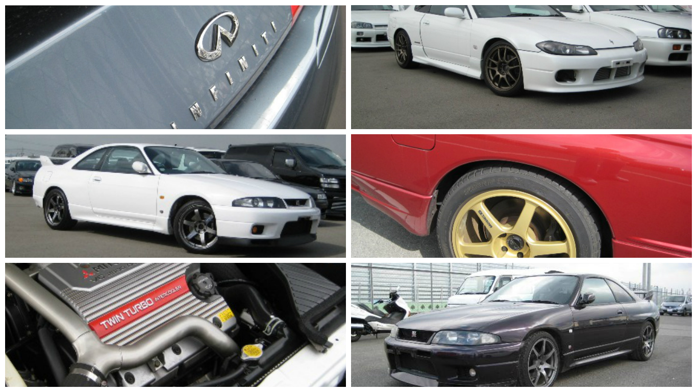 A selection of cars we bought on the 2008 trip. Lots of JDM goodness!