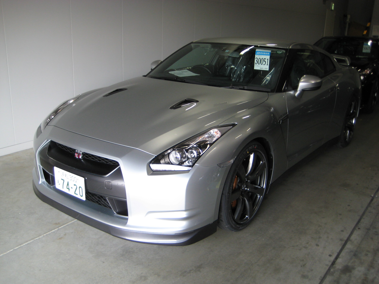 The first R35 GT-R I had ever seen in the metal - BIG news at the time!